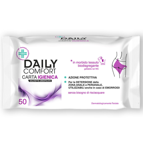 Carta Igienica Umidificata Daily Comfort 50pz