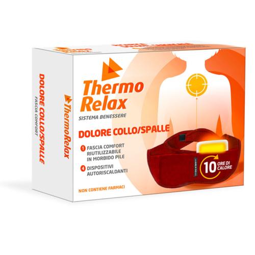 Fascia Collo / Spalle + 4 dispositivi terapeutici autoriscaldanti