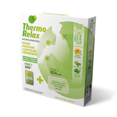 ThermoRelax Phyto Gel Dolori Localizzati Astuccio 8 Trattamenti