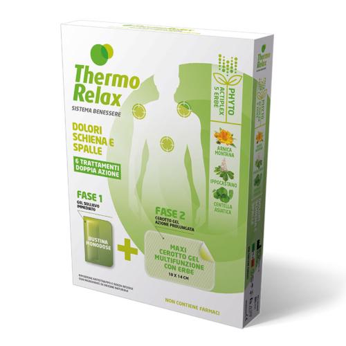 ThermoRelax Phyto Gel Dolore Schiena e Spalle Astuccio 6 Trattamenti