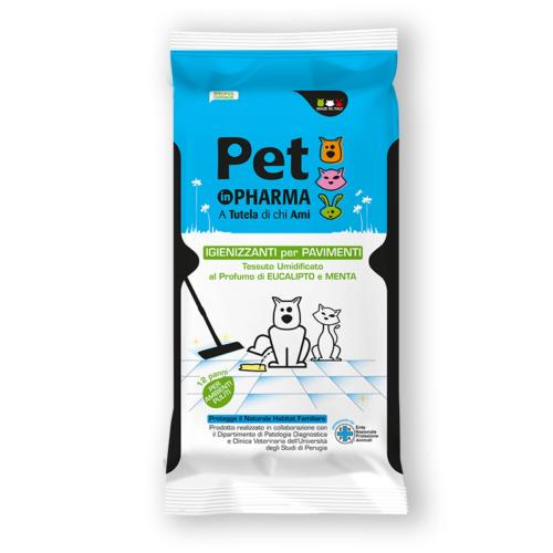 Pet in PHARMA Panni Igienizzanti per Pavimento