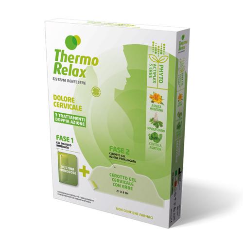 ThermoRelax Phyto Gel Dolore Cervicale Astuccio 3 Trattamenti