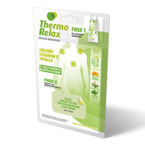 ThermoRelax Phyto Gel Dolore Schiena e Spalle Mono