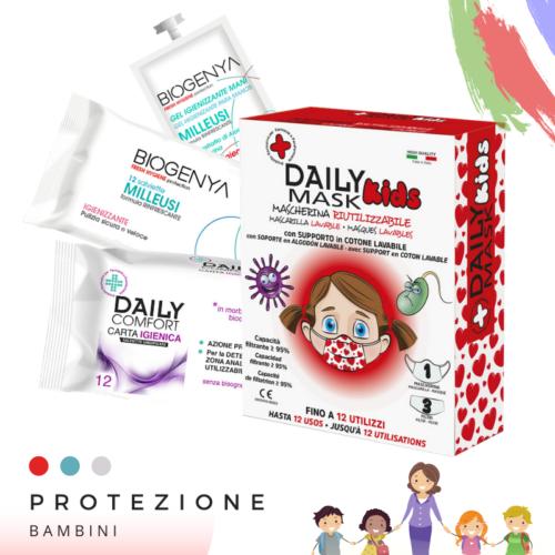 BIOGENYA Kit Protezione Bambini
