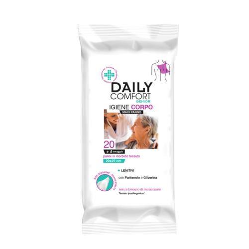 Maxi Panno Daily Comfort Senior Igiene Corpo 20pz
